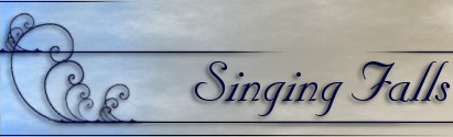 [singing falls logo text]
