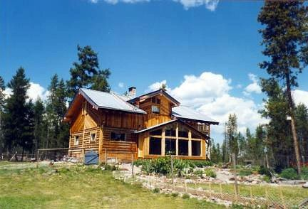 our Montana log home
